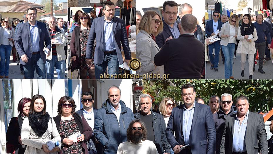Κάλεσαν τον κόσμο στην εκδήλωση της Δευτέρας ο Κώστας Ναλμπάντης με τους συνεργάτες του (εικόνες-βίντεο)