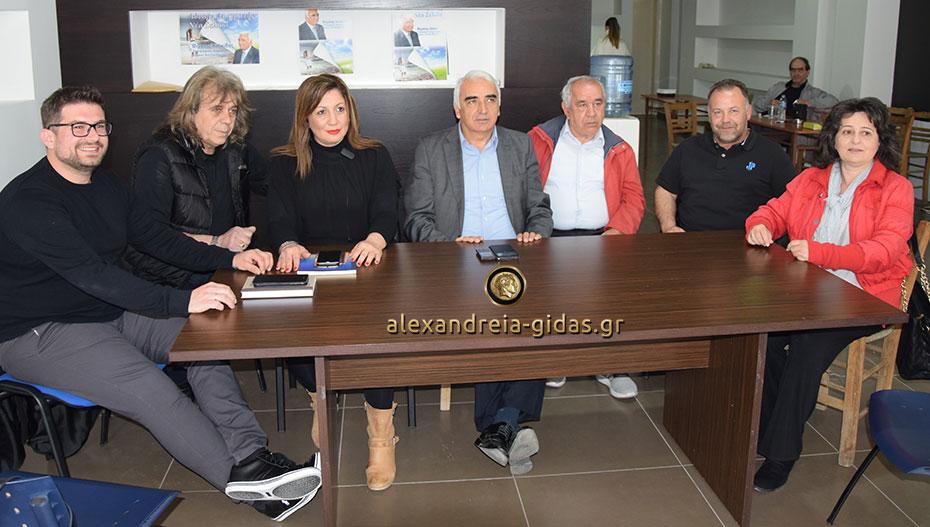 Παρουσίασε 6 υποψήφιους δημοτικούς συμβούλους ο Μιχάλης Χαλκίδης (εικόνες-βίντεο)