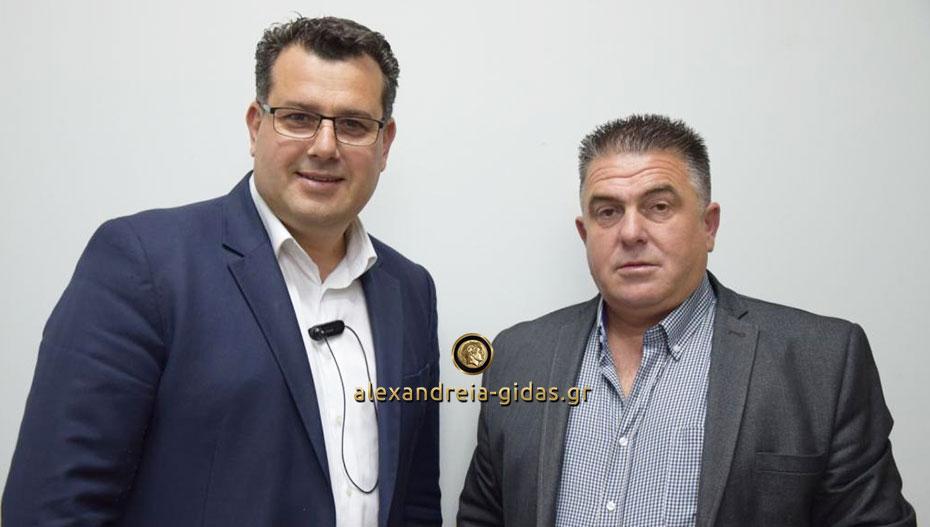 Ανακοίνωσε τον Μάκη Χατζόπουλο ο Κώστας Ναλμπάντης