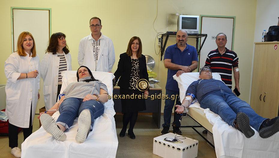 Πετυχημένη για ακόμα μία φορά η Εθελοντική Αιμοδοσία στην Αλεξάνδρεια – μπράβο σε όλους! (εικόνες)