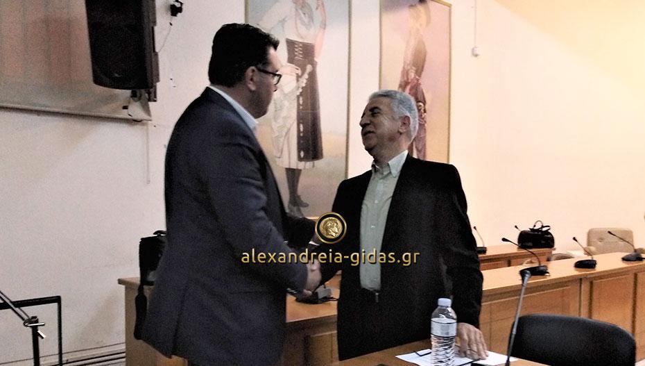 Τα είπαν Ναλμπάντης – Μοσχόπουλος στο δημαρχείο Αλεξάνδρειας