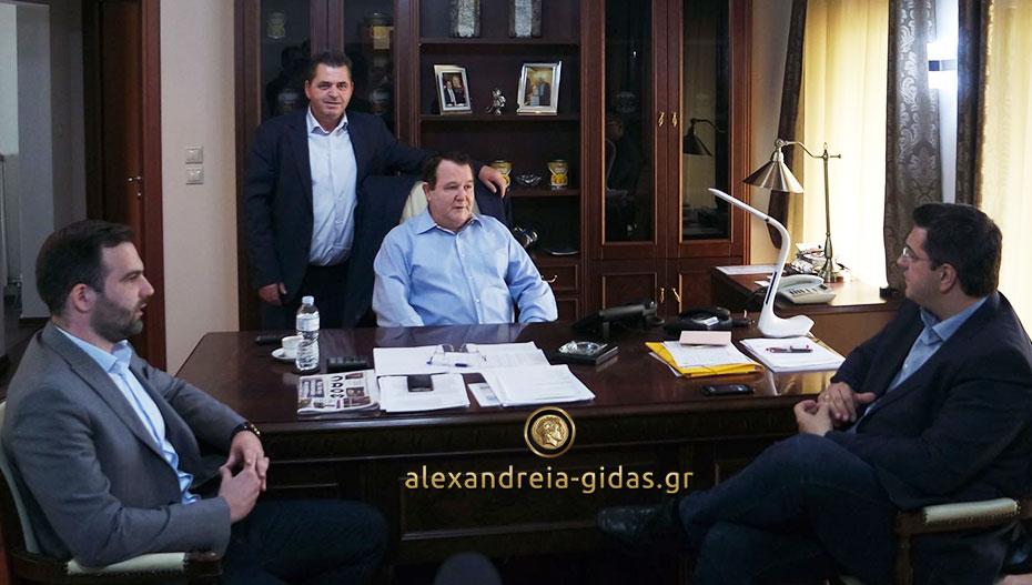 Την «ALEXANDER» – Σκουρτόπουλος επισκέφτηκε ο Απόστολος Τζιτζικώστας