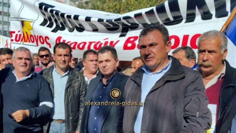Ο Κώστας Καλαϊτζίδης χαιρετίζει την αθώωση των αγροτών για τις κινητοποιήσεις που είχαν κάνει