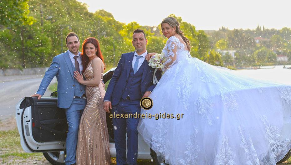 Ο υπέροχος γάμος του Αναστάσιου και της Χριστίνας! (εικόνες)