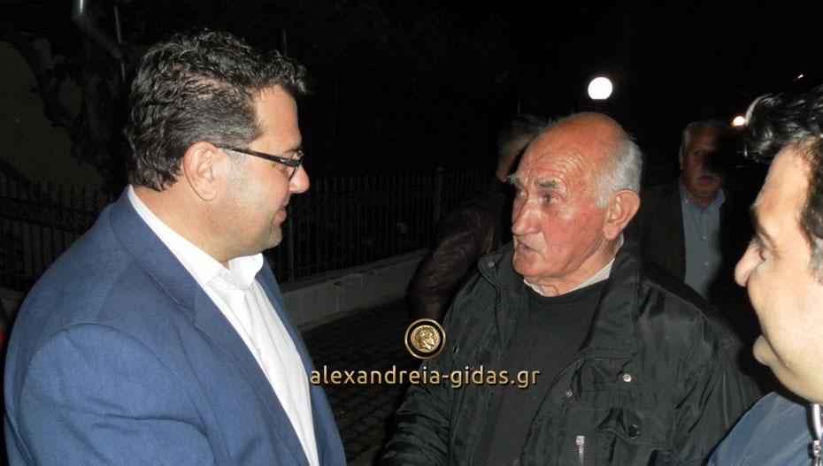 Δείτε τι έγινε στις επισκέψεις του Κώστα Ναλμπάντη σε Νεόκαστρο και Π. Πρόδρομο (εικόνες)