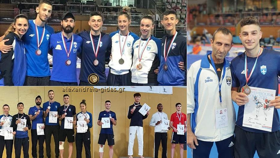 Με την προολυμπιακή στο Λουξεμβούργο ο Κωνσταντίνος Χαμαλίδης – αργυρό μετάλλιο! (εικόνες)