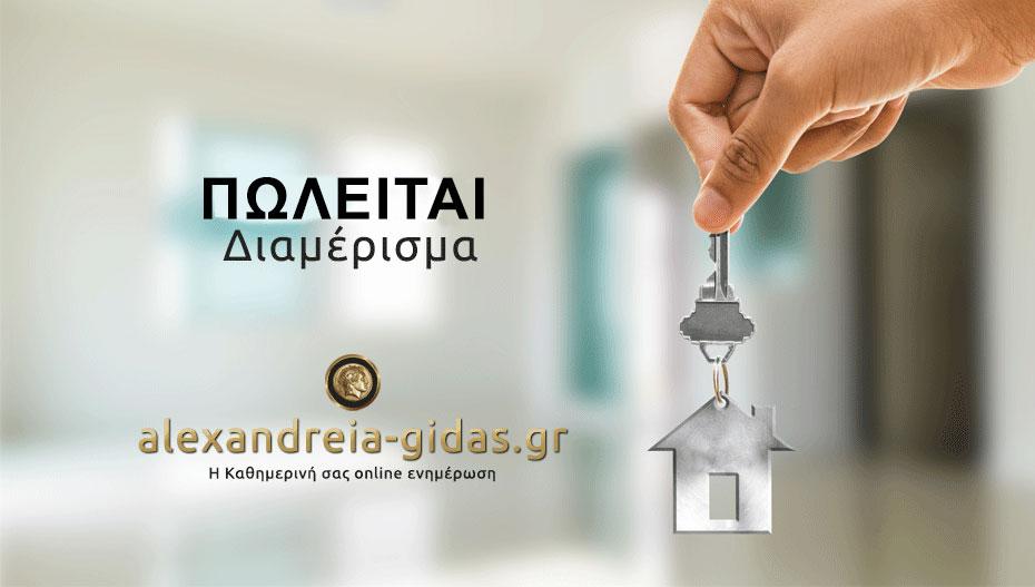 Ευκαιρία! Πωλείται διαμέρισμα στο κέντρο της Αλεξάνδρειας (πληροφορίες)