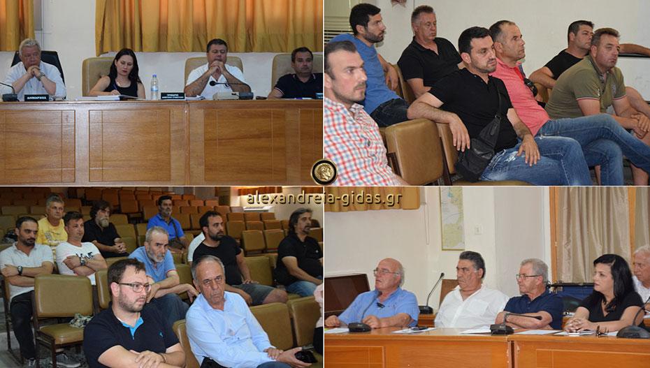 Εκτάκτως συνεδρίασε το μεσημέρι το δημοτικό συμβούλιο για το κλείσιμο της ΔΕΛΤΑ στο Πλατύ (εικόνες-βίντεο)