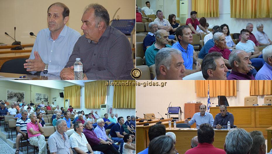Συνάντηση του Απόστολου Βεσυρόπουλου με τους παραγωγούς λαϊκών αγορών στην Αλεξάνδρεια (εικόνες)