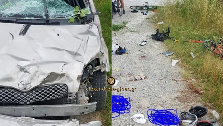 Τροχαίο ΣΟΚ στην Πτολεμαΐδα: Γυναίκα οδηγός παρέσυρε έξι ποδηλάτες, νεκροί οι δύο (εικόνες)