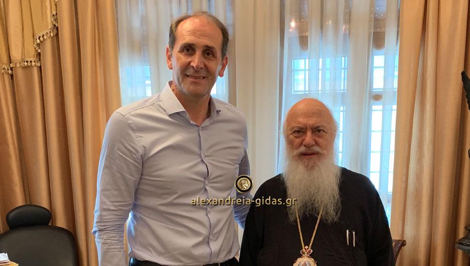 Συναντήθηκε με τον Μητροπολίτη ο Απόστολος Βεσυρόπουλος