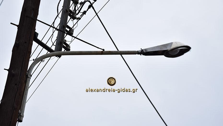 Προβλήματα με τον φωτισμό σε πολλά σημεία της Αλεξάνδρειας