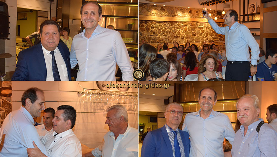 Στην Αλεξάνδρεια ο Απ. Βεσυρόπουλος – γεύμα του Νίκου Τάκη και της Ρούλας Χαριτάκη (εικόνες-βίντεο)
