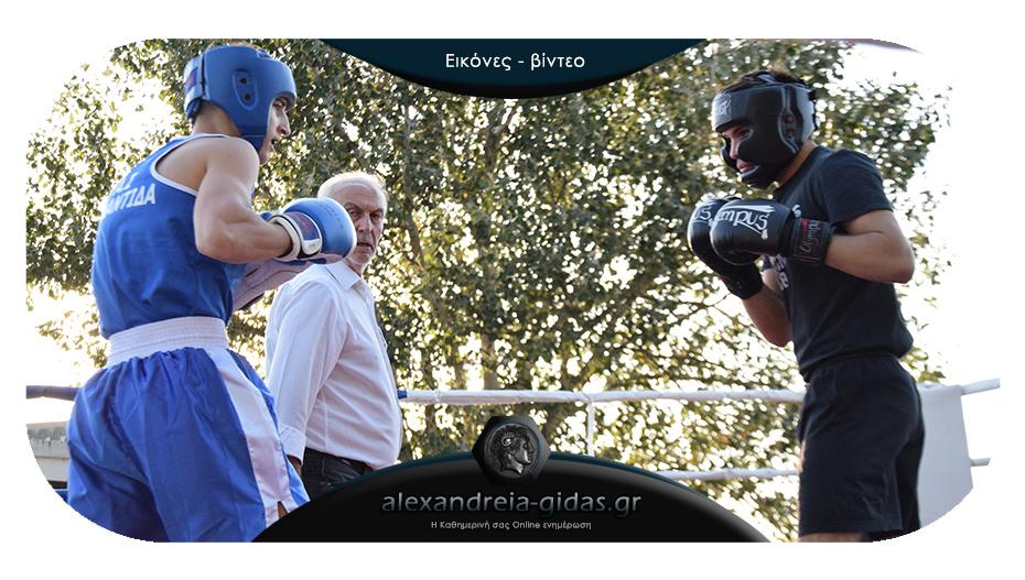 Σπάρινγκ πυγμαχίας στην Αλεξάνδρεια: Στο ρινγκ οι μποξέρ της ΑΤΛΑΝΤΙΔΑΣ και του ΠΑΟΚ
