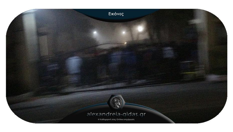 ΤΩΡΑ: Φασαρία στο hot spot στην Αλεξάνδρεια – παρέμβαση αστυνομικών και πυροβολισμοί