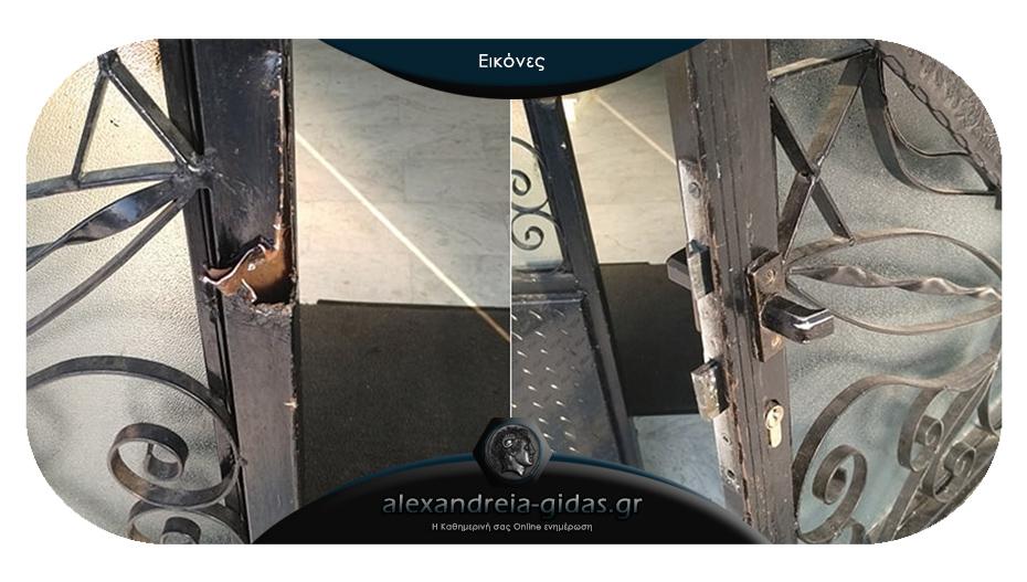 Ιερόσυλοι επιχείρησαν να κλέψουν την εκκλησία στο Νησέλι – έσπασαν την πόρτα εισόδου