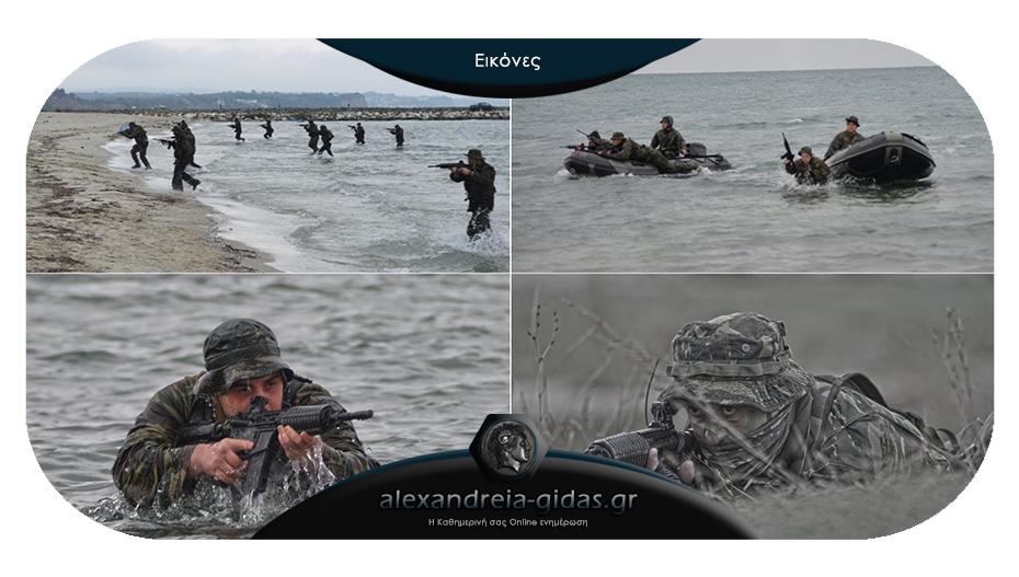 Άσκηση της Λέσχης Εφέδρων Ενόπλων Δυνάμεων στις Αλυκές Πιερίας