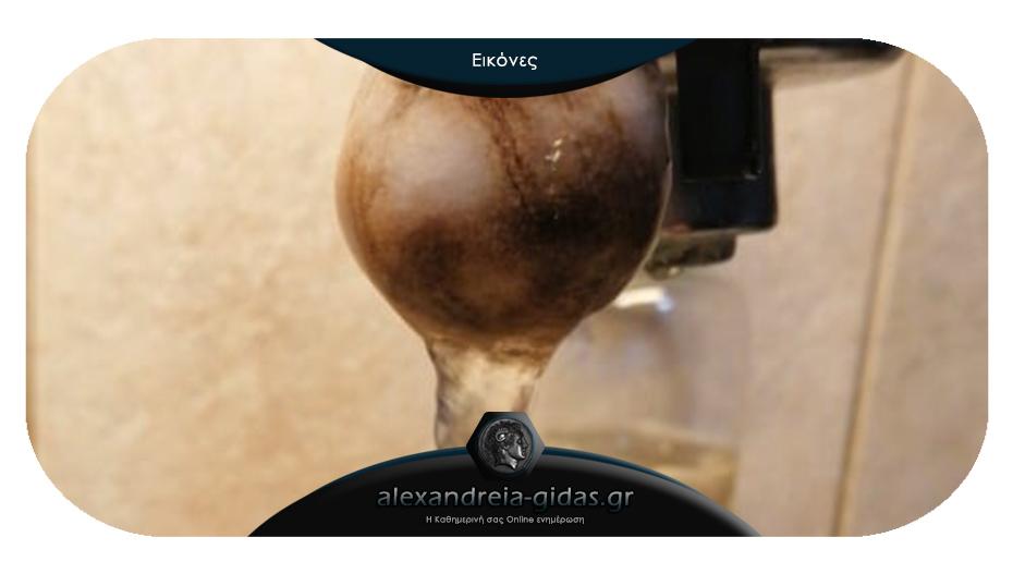 Προβλήματα με το νερό καταγγέλλουν οι κάτοικοι της Αλεξάνδρειας – τι απαντάει η ΔΕΥΑΑλ.