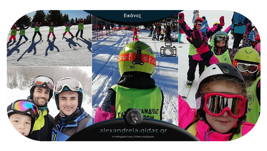 Μάθετε σκι με τον ΓΑΣ Αλεξάνδρειας – συνεχίζονται οι εγγραφές!