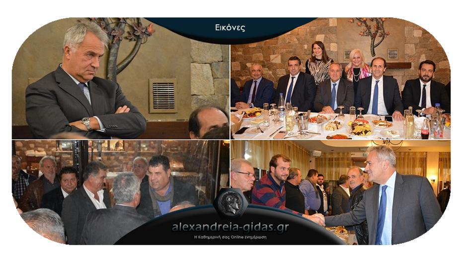 Στην Ημαθία βρέθηκε ο Υπουργός Αγροτικής Ανάπτυξης Μάκης Βορίδης