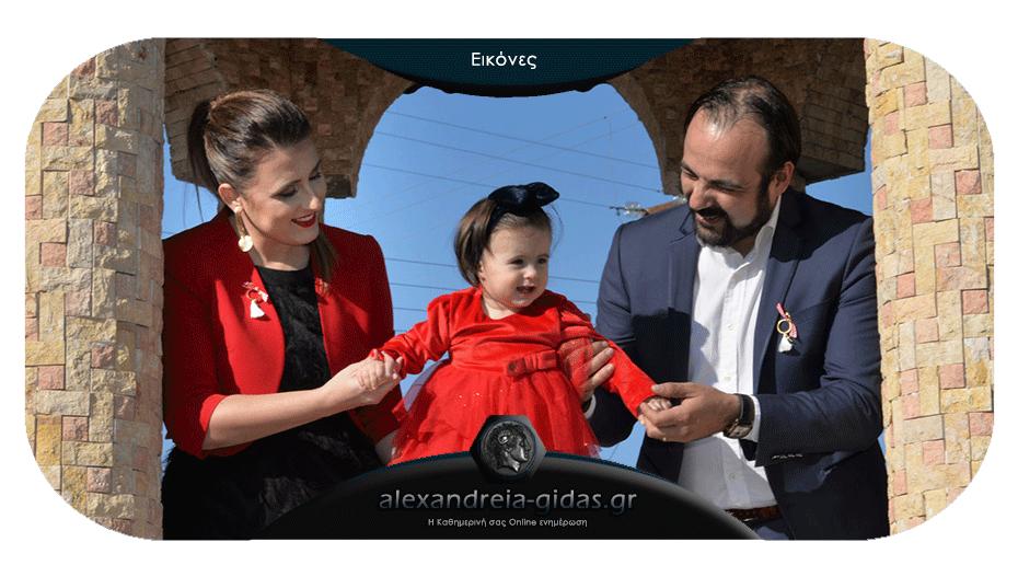 Η πανέμορφη βάπτιση της μικρής Φωτεινής: Νίκο και Ελένη να σας ζήσει!