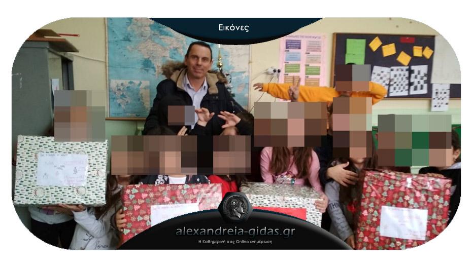 Προσφορά αγάπης και αλληλεγγύης στο Χαμόγελο του παιδιού από το 1ο Δημοτικό Σχολείο Αλεξάνδρειας