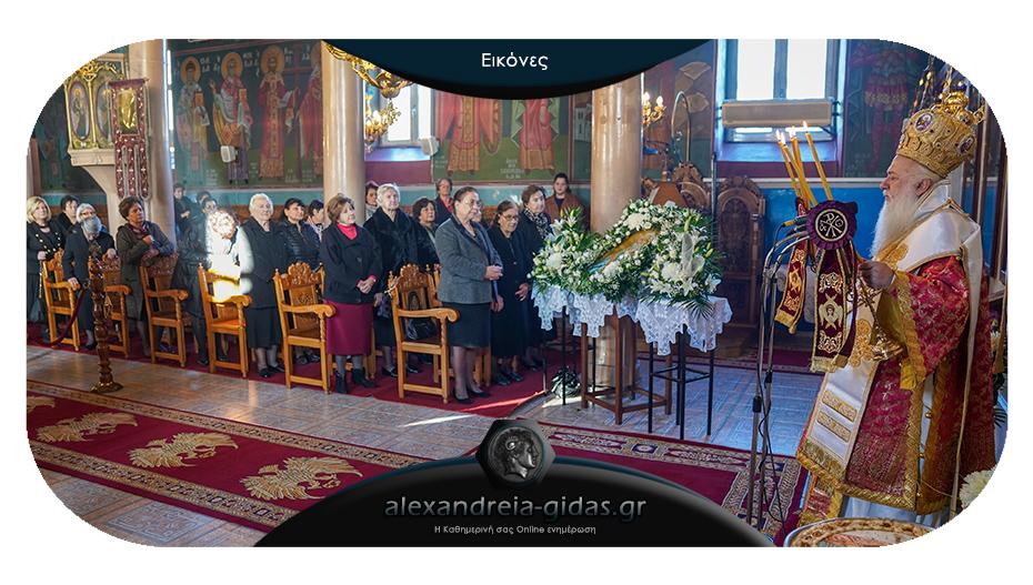 Εορτάστηκε η μνήμη του Αποστόλου Ανδρέου στον Πλάτανο – χειροθέτησε αναγνώστη ο Μητροπολίτης