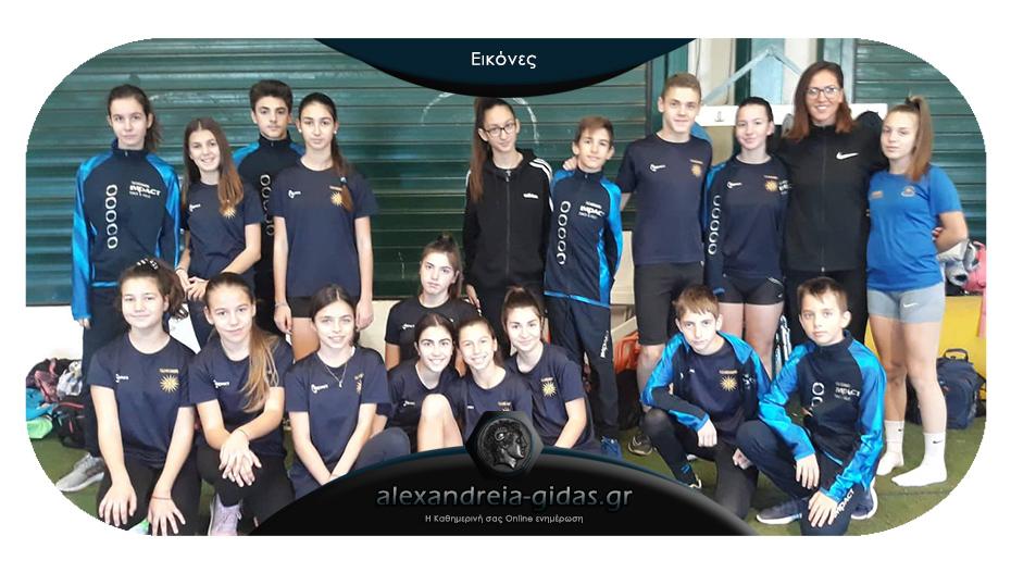 9 μετάλλια και δυνατές επιδόσεις για τους αθλητές στίβου του ΓΑΣ Αλεξάνδρειας