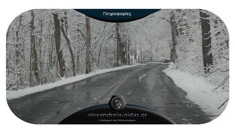 Τι πρέπει να προσέξουν οι οδηγοί στην Ημαθία με τον παγετό – ποια τα επικίνδυνα σημεία