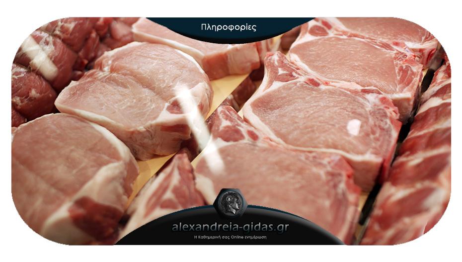 Ανεβαίνει η τιμή του χοιρινού κρέατος εν όψει των εορτών