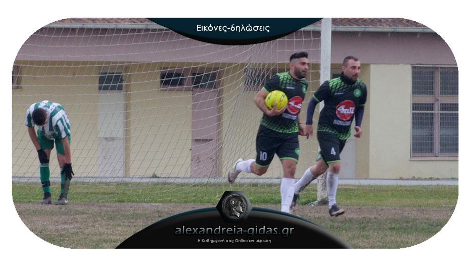 Αλεξάνδρεια – Αστέρας Αλεξάνδρειας 2-1: Δύσκολη νίκη με πρωταγωνιστή τον Πιπιλιάρη
