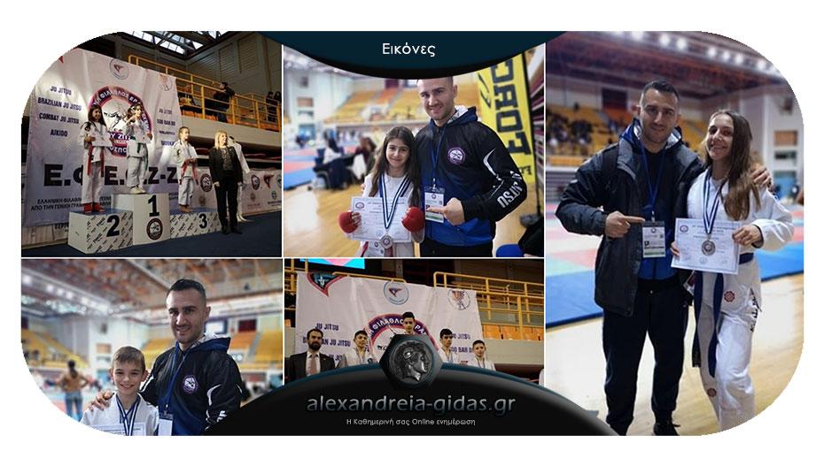 5 μετάλλια στο Πανελλήνιο Πρωτάθλημα Ju Jitsu για τον ΑΣΚ Αλεξάνδρειας!