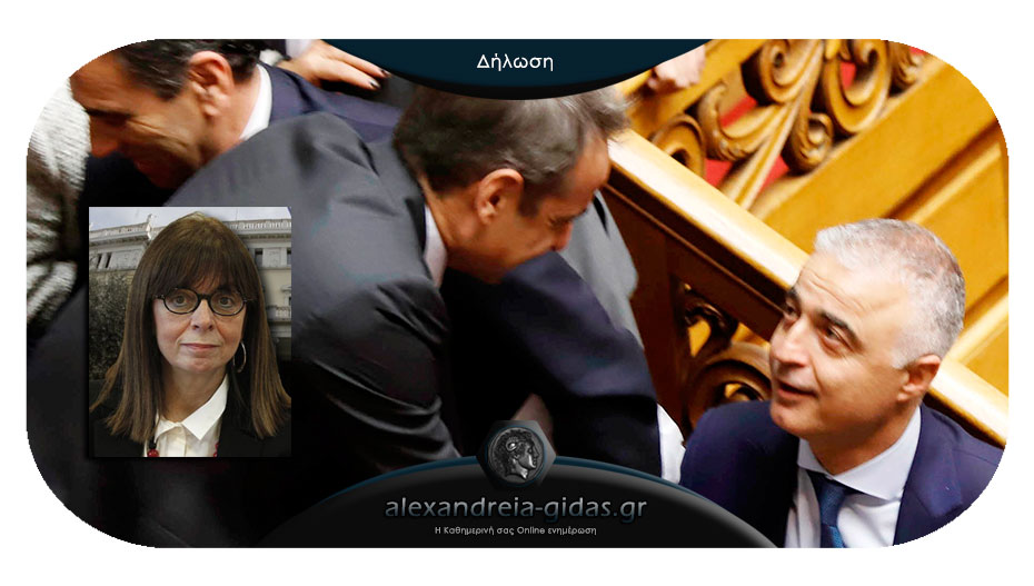 Ο Λάζαρος Τσαβδαρίδης για την υποψηφιότητα της Κατερίνας Σακελλαροπούλου
