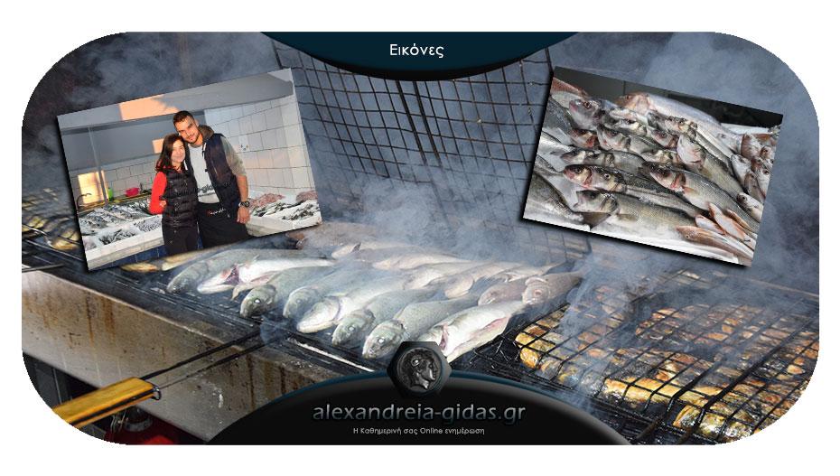 Φρέσκα ή ψητά τα ψάρια σας το Σάββατο στο ΨΑΡΑΔΙΚΟ ΤΣΟΛΑΚΙΔΗΣ στην Αλεξάνδρεια!