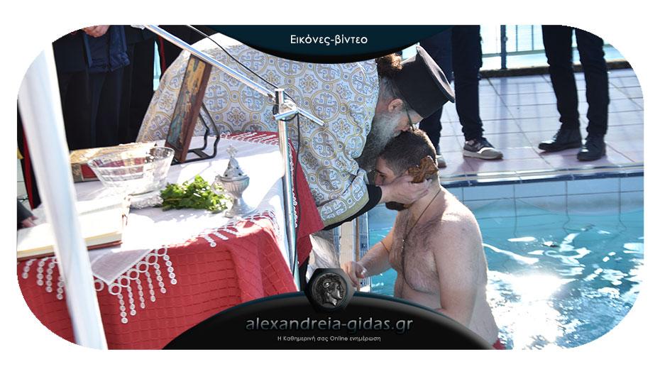 Τα Θεοφάνεια στο δημοτικό κολυμβητήριο Αλεξάνδρειας!
