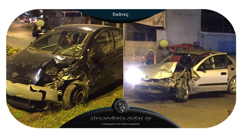 Πριν λίγο: Τροχαίο ατύχημα στην Αλεξάνδρεια
