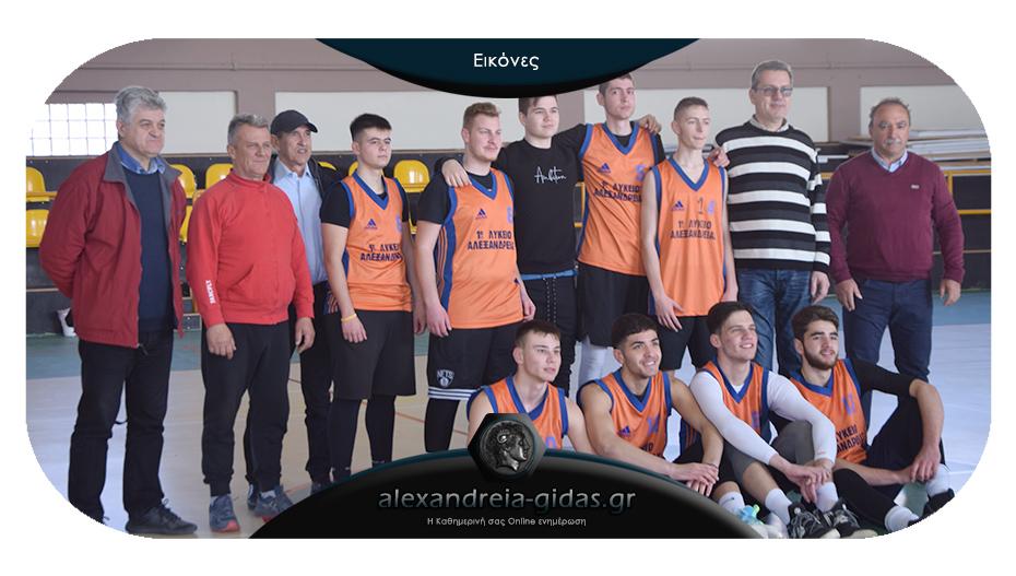 Σχολικό πρωτάθλημα μπάσκετ: 1ο ΓΕΛ Αλεξάνδρειας – ΓΕΛ Μελίκης 75-53