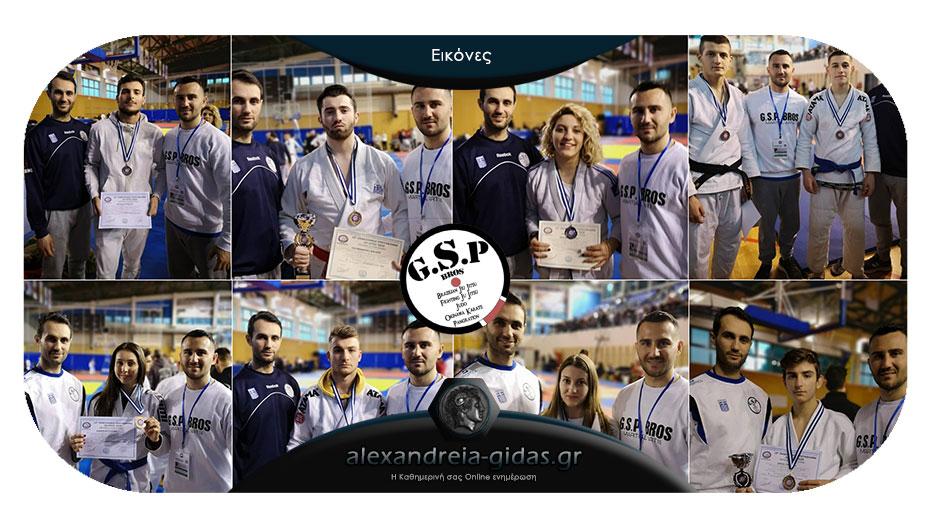 Απόλυτα πετυχημένη η συμμετοχή του ΑΣΚ Αλεξάνδρειας GSP BROS στο Πανελλήνιο Πρωτάθλημα Ju Jitsu!