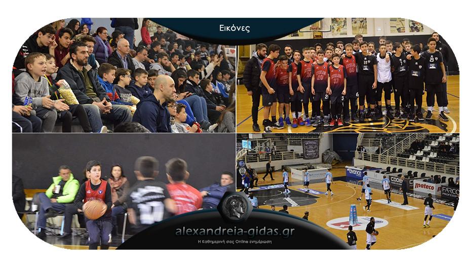 Στο PAOK Sports Arena φιλοξενήθηκε από τον ΠΑΟΚ η ακαδημίας μπάσκετ ΑΘΛΟΣ Αλεξάνδρειας!
