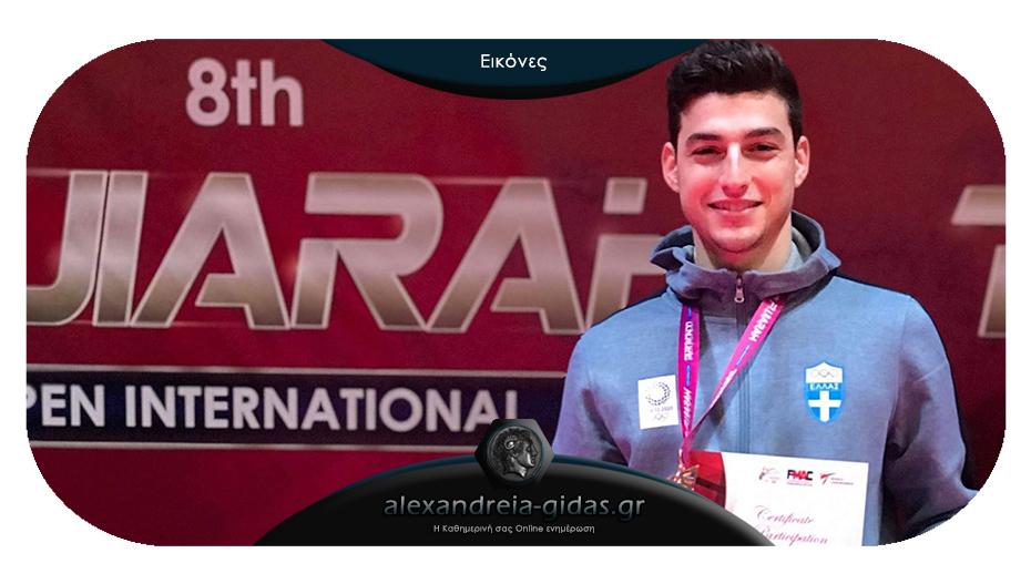 Μετάλλιο για τον Κωνσταντίνο Χαμαλίδη στα Ηνωμένα Αραβικά Εμιράτα!