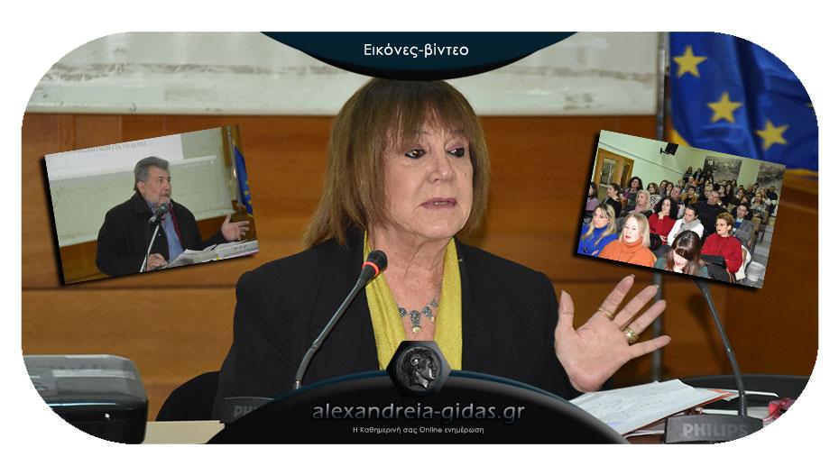 Καθήλωσε η Χριστίνα Αντωνοπούλου στην Αλεξάνδρεια