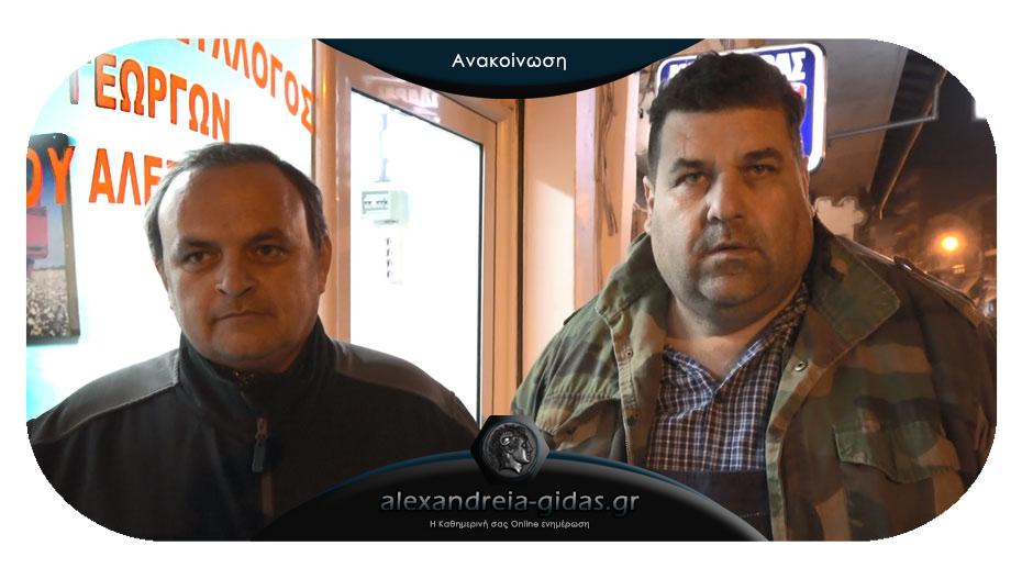 Αγροτικός Σύλλογος Αλεξάνδρειας: Να καταγραφούν άμεσα οι ζημιές από το χαλάζι