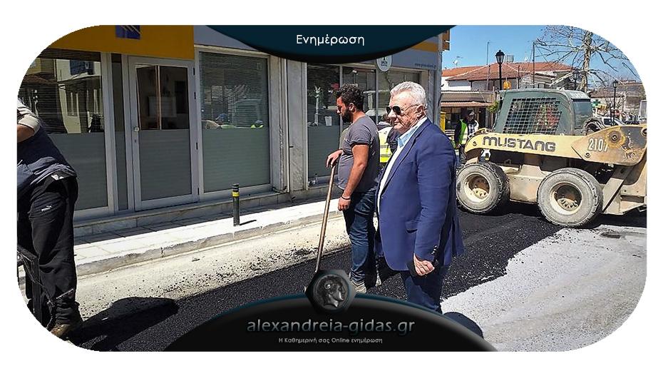 Στη Μελίκη ο δήμαρχος – ενημερώθηκε για την πρόοδο εργασιών του αποχετευτικού