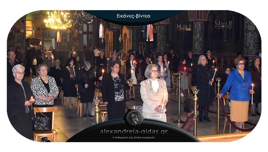 Ανάσταση και «Χριστός Ανέστη» το βράδυ της Τρίτης και στην Αλεξάνδρεια