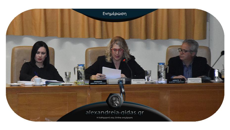 Κεκλεισμένων των θυρών με 8 θέματα την Δευτέρα το δημοτικό συμβούλιο Αλεξάνδρειας