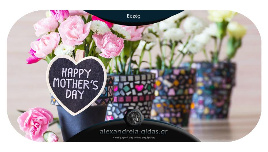 Ευχές του Συλλόγου Γυναικών Αλεξάνδρειας για την αυριανή Γιορτή της Μητέρας