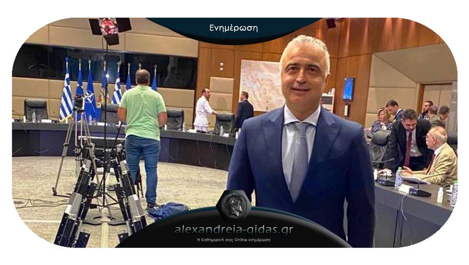 Ο Λ. Τσαβδαρίδης στην επίσημη ενημέρωση για την κατάσταση στον Έβρο