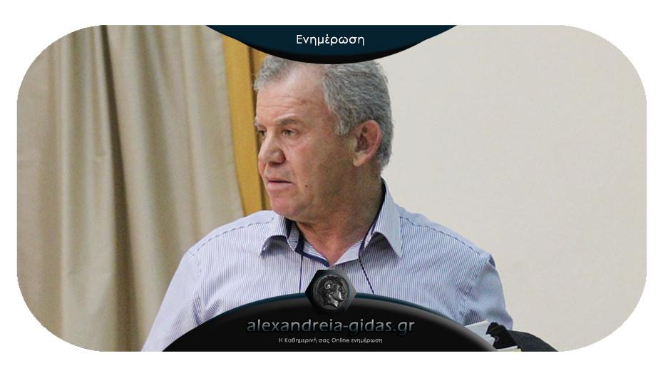 Το δικαιολογημένο παράπονο του αντιδημάρχου Βενιόπουλου
