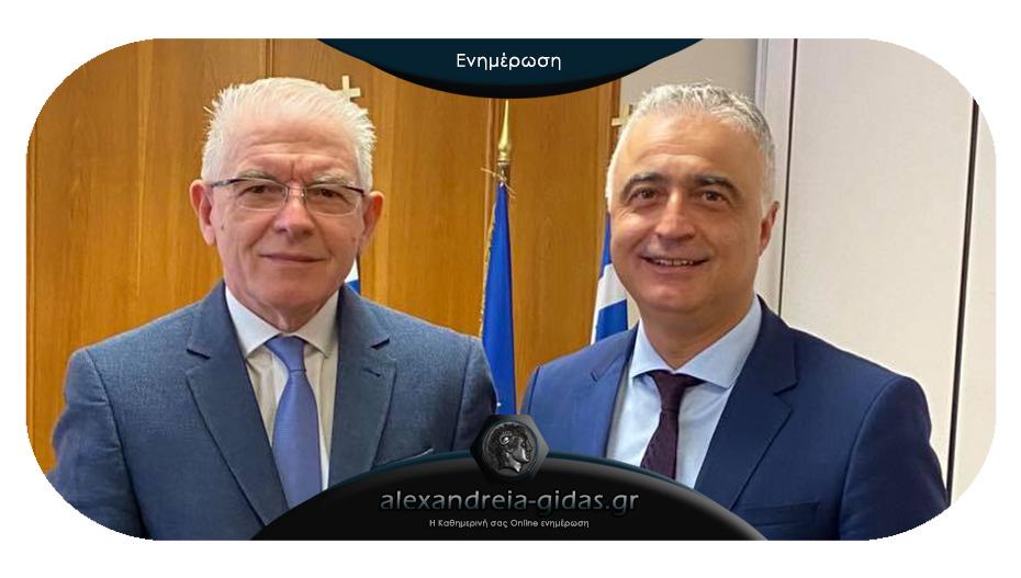 Συνάντηση Τσαβδαρίδη – Λυκουρέντζου: Τι ζήτησε από τον πρόεδρο του ΕΛΓΑ ο βουλευτής