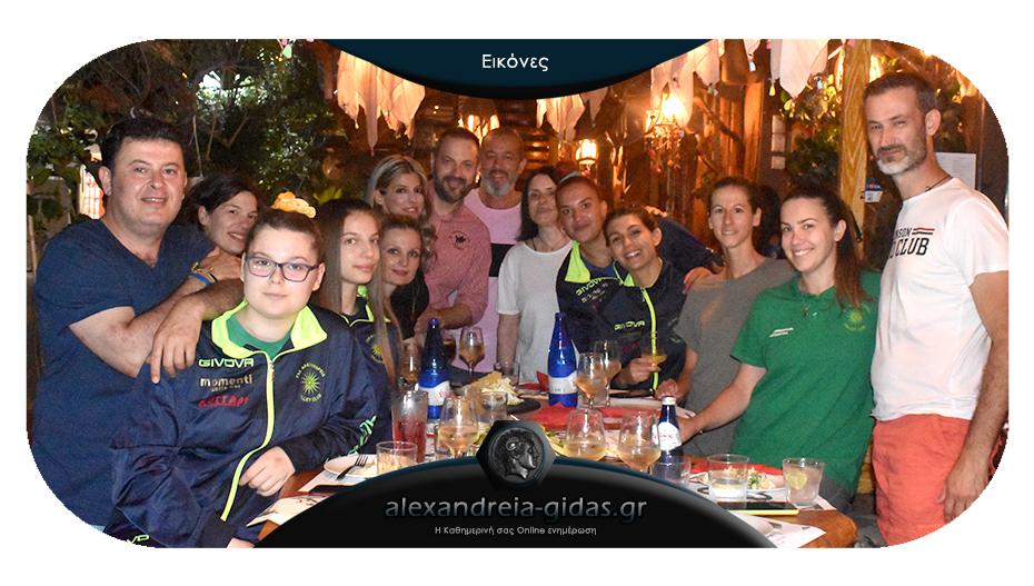 Γεύμα για την εκπληκτική χρονιά του βόλεϊ του ΓΑΣ Αλεξάνδρειας στο OLIVE!